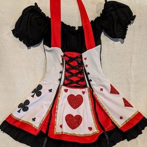 Other - Adult Med/Lg Queen of Hearts costume